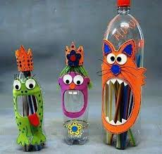 Best Plastic Bottle Crafts Ideas On With Regard To Craft Making A Water Well Bottles Arts And
