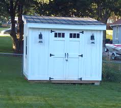 Shed Plans 8x12 Materials by Diy Lean To Or Slanted Roof Shed Built After A Couple Different