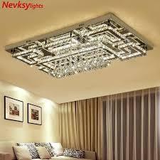 luxus led leuchten zeichnung kristall decke licht wohnzimmer decke le moderne beleuchtung schlafzimmer led kristall le fernbedienung