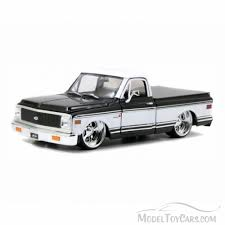 1972 Chevy Cheyenne Pick Up Truck, Black & White - Jada Toys 96865 ... 1972 Chevrolet Cheyenne Super Pickup Truck Interview With Rene Shows Lighter Silverado Pickup Concept The Top 5 Classic Pickup Trucks Jada Toys Just Trucks 132 Scale Diecast Chevy 1997 2500 Truck Item Da1127 So For Sale Classiccarscom Cc10329 Dealer Keeping The Classic Look Alive With This Original But Uh Not Quite Hot Rod Network Hemmings Find Of Day P Daily Al Coronas Skanless 72 The 420 Hp Is V8 Trucklet You Need