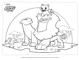 DigiPonyTheDigimon Animal Jam Coloring Page Lion Family By
