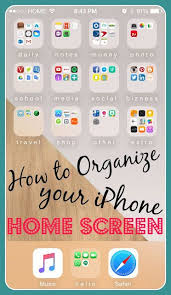 How to Organize Your iPhone Home Screen⎹ Julie SanCHIC Live an