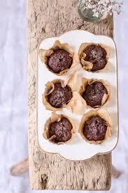 zuckerfreie schokoladen süßkartoffel muffins