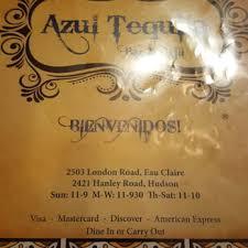 El Patio Eau Claire Happy Hour by Azul Tequila 21 Reviews Mexican 2503 London Rd Eau Claire