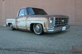 100 C10 Truck For Sale 1979 Patina Bagged Shop Truck
