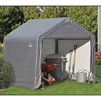 amazon com a m leonard shed in a box 6 x 6 x 6 foot garden