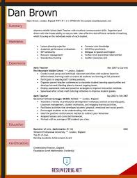 Seven Ways On How Elementary Teacher Resume Examples Simple Profile Superb Of Teaching