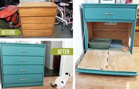 Under Desk Filing Cabinet Australia by 27 Useful Diy Solutions For Hiding The Litter Box
