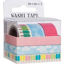 Halloween Washi Tape Australia by Fujifilm Washi Tape Summer 3 Pack Big W