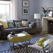 Living Room Ideas Brown Leather Sofa by Blue Black Grey Living Room Flower Painting Wood Burner Fireplace