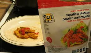 sol cuisine sol cuisine smoky chipotle tinga meatless chicken