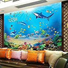 yshasag seidenwandbild fototapete hd unterwasserwelt
