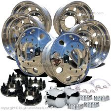 100 Heavy Duty Truck Wheels Ford 8 To 10 Lug Adapter For F350 Dually S Free Shipping