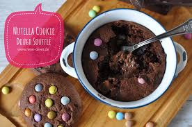 nutella cookie soufflé schnell zubereitet und sehr lecker