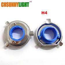 led bulb base clip retainer adapter holder sockets for h1 h3 h4 h7