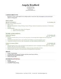 Resume Examples With Little Experience Teller Sample Bank Job Intended Objective No Work