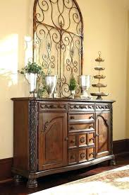 Cherry Buffet Server Dining Table Sideboard Black Kitchen