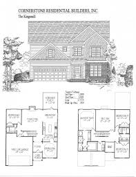 100 Cornerstone House Plans Kingsmill Home Floor Plan Apex Cary Holly Springs NC
