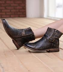 handmade short leather boots for women bed stu