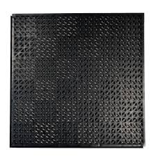 techno loc 18 in x 18 in black commercial grade pvc self