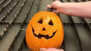 Dremel Drill Pumpkin Carving by Carving A Pumpkin In Under 30 Seconds With A Waterjet How To