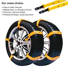 Amazon.com: Snow Chains, Anti-skid Tire Chains Anti Slip Snow Tire ...