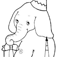 Kids N Fun 21 Coloring Pages Of Elephants