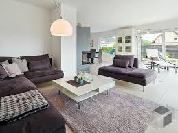 offenes wohnzimmer große fenster wohnzimmer modern graue