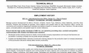 Resume Summary Examples Nonprofit New Professional Inspirational Technical