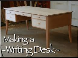 writing desk building process by doucette and wolfe furniture