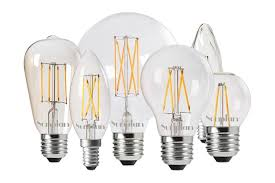 get started with led filament bulbs of sunplan lighting