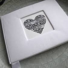 Personalised Wedding Guest Book By Letterfest