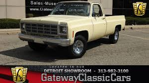 1977 Chevrolet C10 | Gateway Classic Cars | 1251-DET Trucks And Suvs Are Booming In The Classic Market Thanks To 1977 Chevrolet Scottsdale Pu Sold Dragers Intertional Classic C20 Custom Deluxe Pickup Truck Item D9920 Medium Chevy Sales 50 Similar Items 197387 Stepside Hot Rod Network Ck 10 Questions Were Any C10 Trks Ever 4x4 Or Did It For Sale Classiccarscom Cc1034541 Tituswill Tacoma Serving Parkland Lakewood Truck Interior Awesome