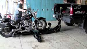 Minute Man Motorcycle Attachment - YouTube Motorcycle Dolly Aw Direct Pokemon Snorlax Bed And Pokmon Things To Consider When Adding A Lift Kit Your Truck Scott Law Firm 10 Do With Dropped Liz Jansen Redline 2200hd 2200 Lb Electric Hydraulic Bike Atv The Carrier And Store Motorcycle Loaders Rampage Power Trailer Review Q Loaderrampwinch Load Mc Onto Pickup Truck Bed Wheel Chock Stand Mount Floor Towing Hydralift Lifts Shipping Transport Moverquest Moving Company