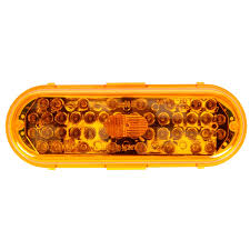 60 Series, LED, Yellow Oval, 44 Diode, Front/Park/Turn, Black PVC ... Trucklite 60 Series Grommet Amazoncom 602r Stopturntail Lamp Automotive 060r Red Oval Retrofitstop Light Kit 26 Led 27450c Headlamp Truck Lite Model Offers 6inch Combination Headlights Lights 2x6 In Work 6 Diode 450 Lumen 12v Pedestal Indicator 2752 New Truck Lite Model Oval Reverse Light Clear 04 Dot 60074y Yellow Frontparkturn