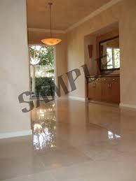 Polished Limestone Floor Image