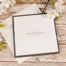 White Double Lace Pocketfold Rustic Chic Wedding Day Invitation Rsvp Set