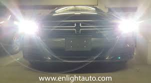 diy 2015 dodge charger hid headlight kit install enlight