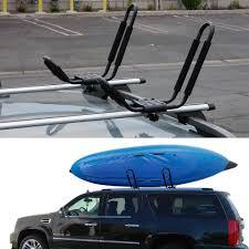 100 Kayak Carrier For Truck 2 Pair Canoe Boat Roof Rack Car SUV Top Mount
