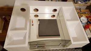 spiegelschrank für das bad bauanleitung zum selberbauen