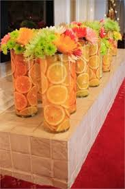 Stunning Orange Table Decorations Ideas Summer Wedding Decor
