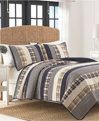 Kenneth Cole Bedding by Closeout Nautica Rangeley Madras Plaid Quilt Collection Quilts