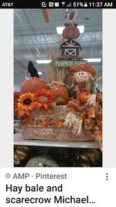 Pumpkin Patch Near Clarksville Tn by Fall Decorating With Hay Bales Pumpkins Mums And Corn Stalks