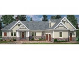 Spacious House Plans by Spacious Craftsman Ranch With Walk Out Basement Hwbdo77772