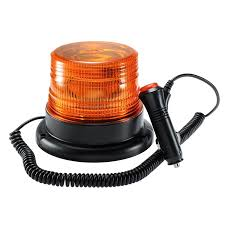 AnTom Led Strobe Light, Amber Emergency Magnetic Flashing Warning ...