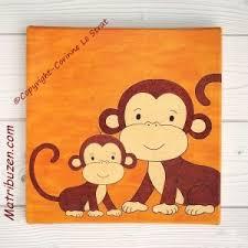 tableau pour chambre bébé décoration murale pour chambre d enfant sur la jungle tableau