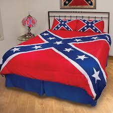 rebel flag 3 piece comforter set dl grandeurs confederate