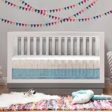 Babyletto Skip Changer Dresser Chestnut And White by Babyletto Cribs Babyletto 2 Piece Nursery Set Hudson 3 In 1