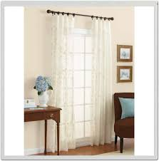 Jcpenney Double Curtain Rods by Decor Purple Jc Penney Curtains With White Baseboard And Side