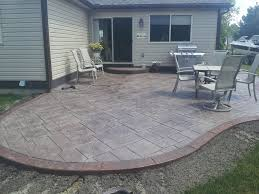 Home Design : Backyard Stamped Concrete Patio Ideas Sunroom Home ... Backyards Cozy Small Backyard Patio Ideas Deck Stamped Concrete Step By Trends Also Designs Awesome For Outdoor Innovative 25 Best About Cement On Decoration How To Stain Hgtv Impressive Design Tiles Ravishing And Cheap Plain Abbe Perfect 88 Your